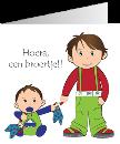 geboortekaartje van Flinth-design Geboortekaartjes