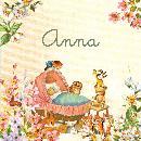 geboortekaartje van Tante Carla
